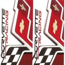 "Sticker "" CHEVROLET Corvette Racing "" 68mm x 65mm BIC Lighter"