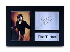 Tina Turner Signed Pre Printed Autograph A4 Photo Gift For a Blues Fan