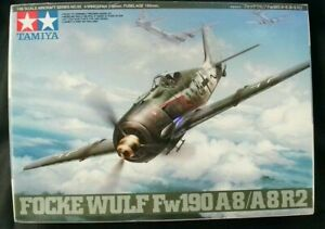 Tamiya 1/48 Focke Wulf FW190A8 / A8R2  WWII German fighter