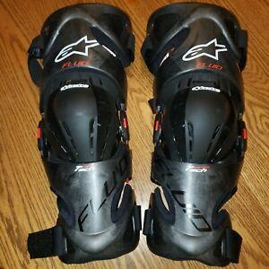 Alpinestars Fluid Tech Knee Braces Xl-2xl