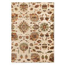 Threshold Logan Floral 100% Wool Area Rug  5' x 7'