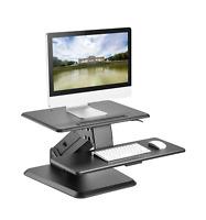 Small Standing Desk - Stand Up Desk Height Adjustable Desk Converter