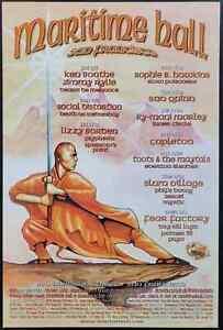 Social Distortion Concert Poster Maritime Hall 2001 - MHP 124