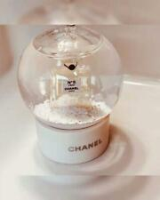 Small CHANEL Snow Globe No 5 Perfume Bottle White Luxury gifts Limited VIP