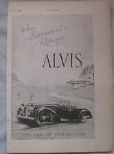 1944 Alvis Original advert No.4