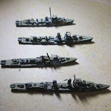 Us Navy Ww2 Destroyer squadron 1 De Buckley 1 De Evarts 1 Mahan 1 Craven