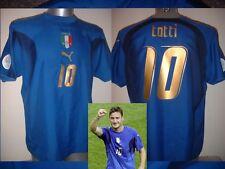 Italy Italia Shirt Puma Adult Large TOTTI Soccer Football Jersey Vintage 3* Roma