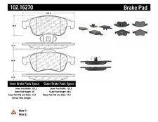 Disc Brake Pad Set-C-TEK Metallic Brake Pads-Preferred Front Centric 102.16270