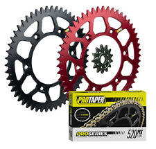Pro Taper sprockets & Pro Series Forged O-Ring chain kit for Honda CRF450R 450X