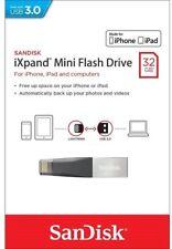 SanDisk SDIX40N-032G 32GB iXpand Mini USB 3.0 Lightning Flash Drive For iPhone