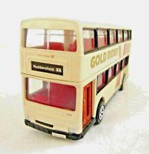 CORGI 91700 DIECAST MCW METROBUS GOLD RIDER1:64 OPENED 85