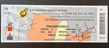 Entrada Final Copa Rey RCD Huelva-RCD Mallorca 28-6-03 Firmada Eto'o, Pandiani