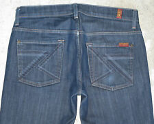 7 For All Mankind Mens Bootcut Jeans Sz 30 X 28 w Stretch Flynt Pockets