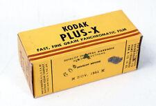 KODAK 116 PLUS-X, EXPIRED NOV 1951/170599
