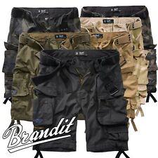 Brandit Savage Ripstop Herren Cargo Shorts Bermuda Kurze Hose Short US Army Rang