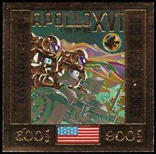 """CAMBODIA C30i (Mi349B) - Apollo XVI """"Imperf"""" (pf43761) $60"""