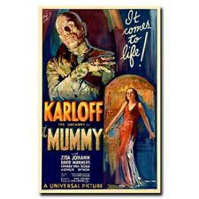 The Mummy 24x36inch 1932 Classic Horror Movie Silk Poster Wall Decoration
