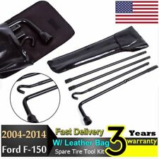 1x Spare Tire Tool 2004-2014 F150 Lug Wrench Extension Steel Kit Replacement Bag