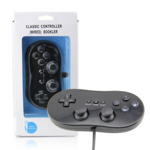 Classic Game Controller With Grip Joypad Gamepad For Nintendo Wii Console UK