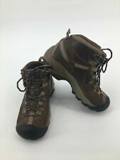 KEEN Womens Brown Lace Up Leather Outdoor Hiking Trail Ankle Boots 6-6.5