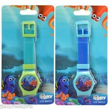 Disney Finding Dory Nemo Digital LCD Wrist Watch Boys Stocking Stuffer (2pc)