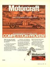1973 REPCO 5000 MOTORCRAFT POSTER AD SALES BROCHURE MINT ADVERTISEMENT ADVERT