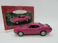 Hallmark Keepsake 1970 Plymouth Hemi 'Cuda American Cars Collector's Series