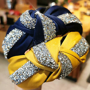 Colorful Women's Luxury Shiny Headband - Bling Hair Accessories Fashion Wedding