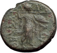LARISSA Thessaly Ancient Greek Coin for THESSALIAN LEAGUE - APOLLO ATHENA i62421