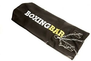Boxingbar 4ft leather punch bag (unfilled)