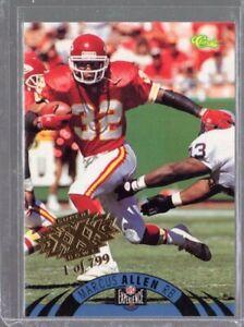 1996 Classic Super Bowl XXX Gold Foild Marcus Allen /799