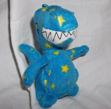 McDonalds Neopets Blue Starry Grarrl Blue Dinosaur Plush
