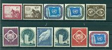 Nations Unies New York 1951 - Michel n. 1/11 - Timbres poste ordinaire