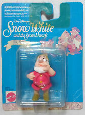 WALT DISNEY MATTEL 1993 SNOW WHITE & THE 7 DWARFS DOC MOSC NEW RARE