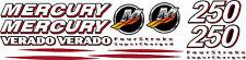 Mercury Verado Four Stroke 200 To 350 Decal Kit