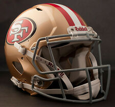 **GAMEDAY-AUTHENTICATED** San Francisco 49ers NFL Riddell Speed Football Helmet