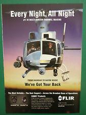 4/2006 PUB FLIR AIRBORNE MULTI SENSOR THERMAL IMAGING HELICOPTER ORIGINAL AD