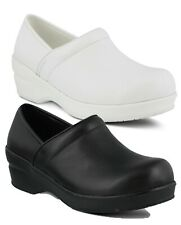 Spring Step Professional Women's Selle Clogs Uniform Slip On Comfort Work Shoes