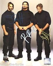 Seth Rollins, Dean Ambrose, & Roman Reigns 8 x 10 Autograph Reprint  WWE  Shield