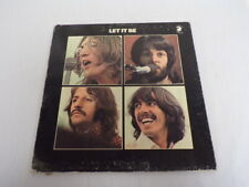 VINTAGE 1970 Beatles Let it Be LP Vinyl Record Album Apple AR 34001