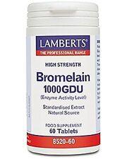 Lamberts Bromelain 1000GDU 60 Tablets