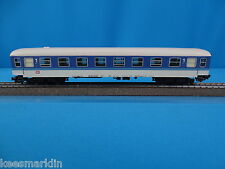 Marklin 4027 DB Inter-Regio Coach Blue-White 1 kl.   TIN PLATE