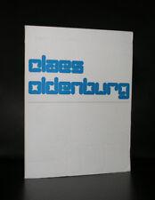 Stedelijk Museum #CLAES OLDENBURG# Crouwel, 1970, NM+
