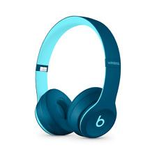 BEATS BY DR. DRE SOLO3 WIRELESS OVER EAR HEADPHONES - POP BLUE **BRAND NEW**