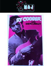 RY Cooder With David Lindley Australian Programme 1979 *Rare* Aus Seller