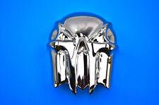 Kuryakyn Skull Horn Cover, Painted Black Chrome  7741