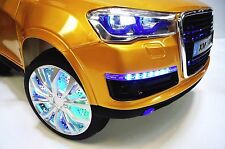 AUDI  Q7 SUV STYLE RIDE ON KIDS TOY CAR REMOTE CONTROL 12 VOLTS ELECTRIC WHEELS