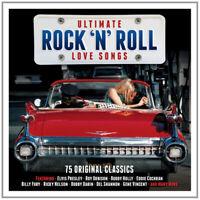 Various Artists : Ultimate Rock 'N' Roll Love Songs CD 3 discs (2015)