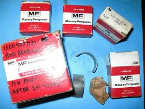 Massey Tractor NOS Rod Bearing Kit Part# 1504847m91