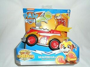 "Nickelodeon Paw Patrol Marshall Deluxe Vehicle ""NEW"""